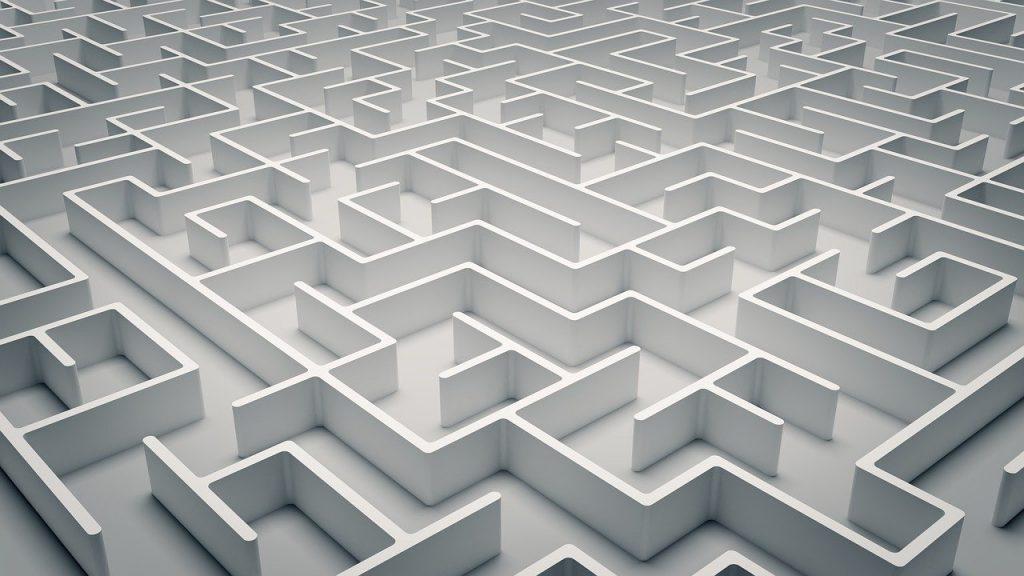 maze, puzzle, labyrinth